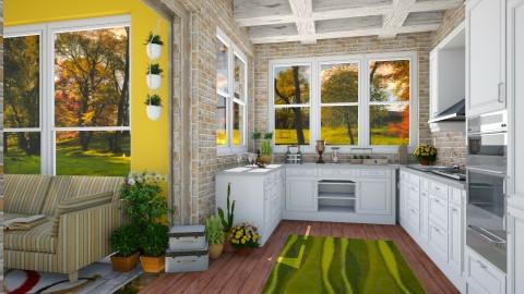 kitchen - by Mazsola
