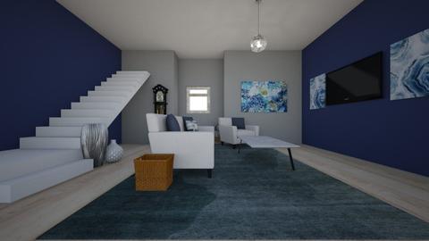 Blue N Grey - by DrJaffaDesigner