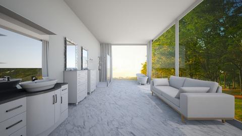 Dream Home_3rd floor_Bath - Bathroom - by ayeshxhoney