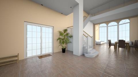 Spanish Villa - Living room - by sarahbatty