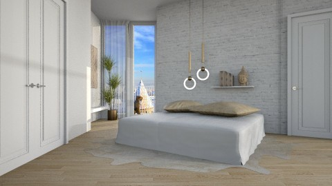 Buddha - Bedroom - by Cailyn V