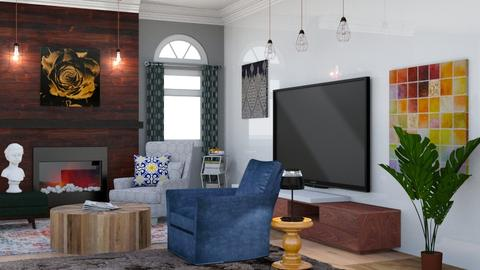 Eclectic Living Room - Eclectic - Living room - by laurenpoisner