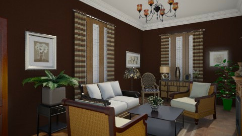 CLR - Classic - Living room - by milyca8