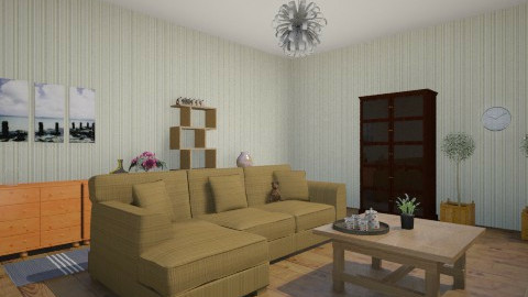 confort - Living room - by Linda Laura Li