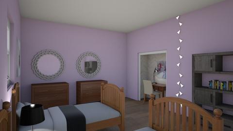 Too Cute Girls Bedroom - Bedroom - by Fixer Upper Rules
