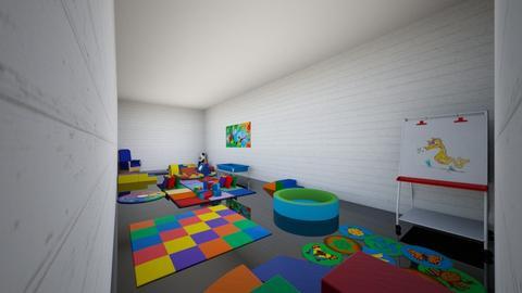 rainbowroomDahnaerequest - Retro - Kids room - by willowimagine55
