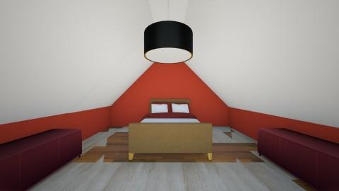 loft room - Bedroom - by sarahbatty