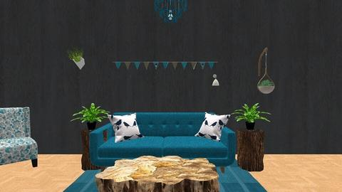 Eclectric Living - Living room - by LexieB123
