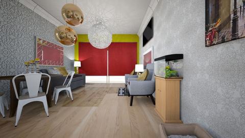 depa - Modern - Living room - by milenio de plata