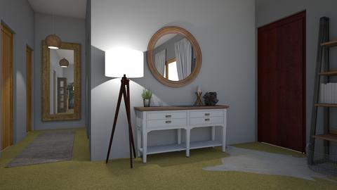 Farmhouse Living Room - Rustic - Living room - by 21harpm
