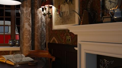 PUB - Rustic - Dining room - by HenkRetro1960