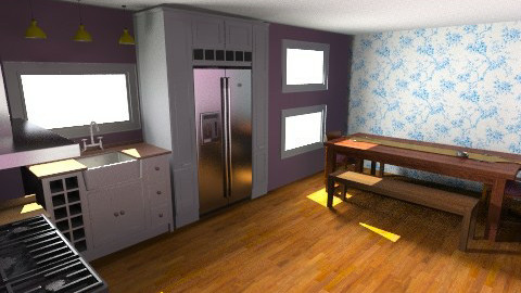 kitchen room - Kitchen - by Mary Swanson
