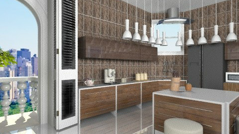 Ivory - Modern - Kitchen - by ATELOIV87
