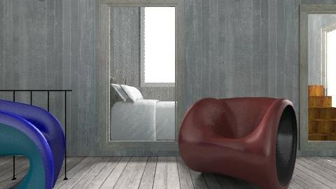 empty grey - Living room - by jujulianamara