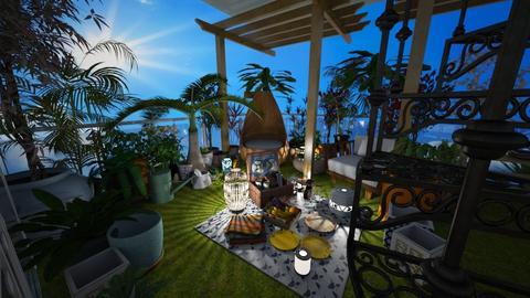 Rooftop Garden Serenity - Garden - by pav09