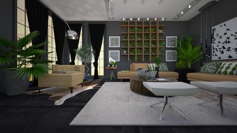 urban - Living room - by ana111