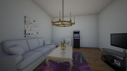 game and tv room - by camilian_the_3rd