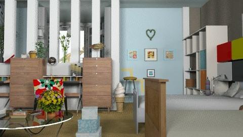 Blue teenage girls room - Modern - Kids room - by Kjami
