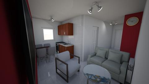 stan dnevna - Minimal - Living room - by kreator