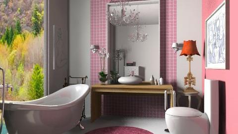 -- - Classic - Bathroom - by sahfs