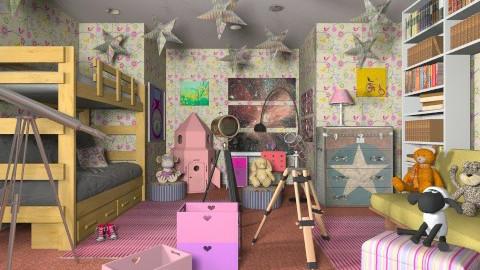 Science girls - Modern - Kids room - by Luisy