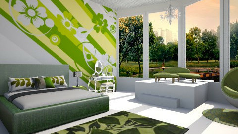 traditional room - Classic - Bedroom - by ruaa shan