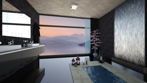 Noire - Modern - Bathroom - by Saharasaraharas