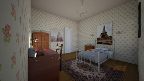 Dream Bedroom - Country - Bedroom - by kittytarg