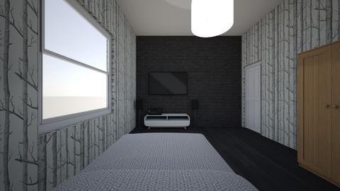 pokoj1 - Minimal - Bedroom - by HerrOsKii