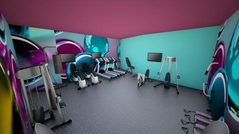 Gym - by Blanchette