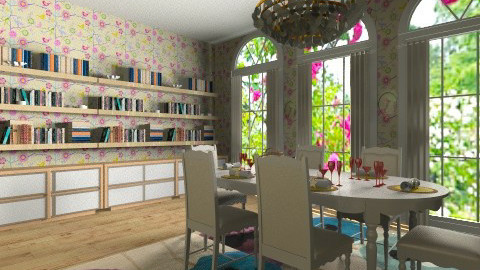 cosy dining - Dining room - by nat_raf