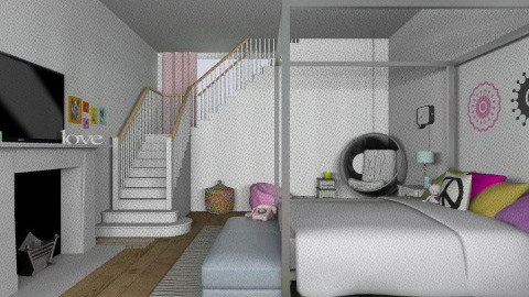 Girls room - Kids room - by TheDesignQueen