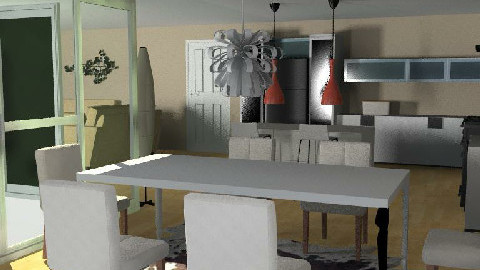Open plan Living - Dining Room - by Edwards Anna