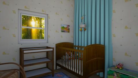 Winnie the Pooh Nursery - Kids room - by miah