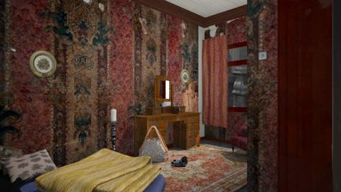 squat - Minimal - Bedroom - by donella