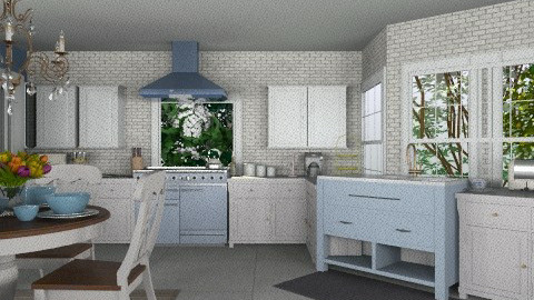 cottage kitchen - Vintage - Kitchen - by sarahl