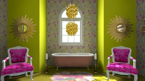 My Plush Bathroom - Modern - Bathroom - by lilme_2k