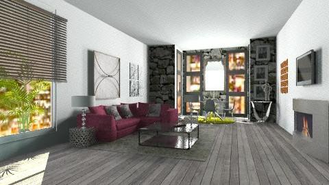 whitwand black - Glamour - Living room - by ana lilia