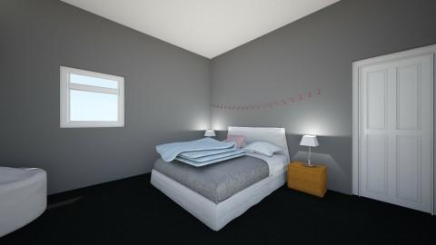 Courtney Bedroom - Modern - Bedroom - by broganhayxx