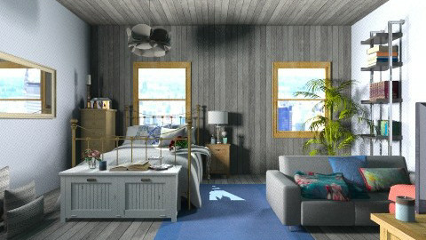 Clare James - Bedroom - by ferguesfalls
