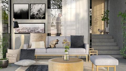Thonet living - Modern - Living room - by eevmo