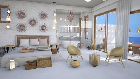 ibiza hotel - Bedroom - by Moonpearl