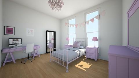 Pretty in pink - Kids room - by Cora_da_B0ss