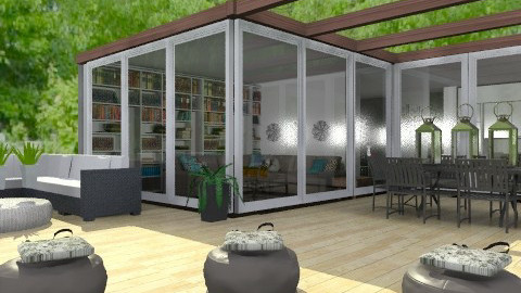 The Typical Family Home - Modern - Garden - by Carliam