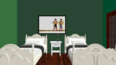 room - Bedroom - by elainny_0