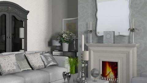 Stylish Lounge - Glamour - Living room - by yasemin04