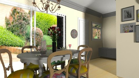 dining room final____6 - Dining room - by bellabravis