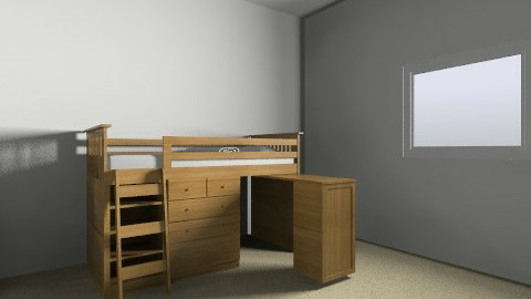Tom room - Classic - Kids room - by LizAdams