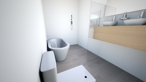 My bathroom home - Minimal - Bathroom - by Neus Costa Selma