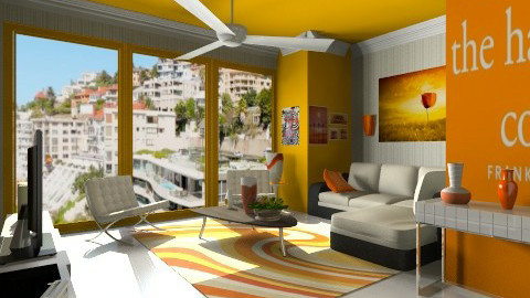 citrus  - Modern - Living room - by Nhezart Designs